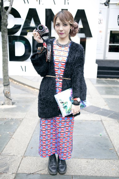 Photos Street Style From World Mastercard Fashion Week Shedoesthecity Events Culture