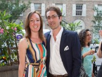 diana-goodwin-and-aris-andrulakis-at-the-perrier-by-andy-warhol-150th-anniversary-event
