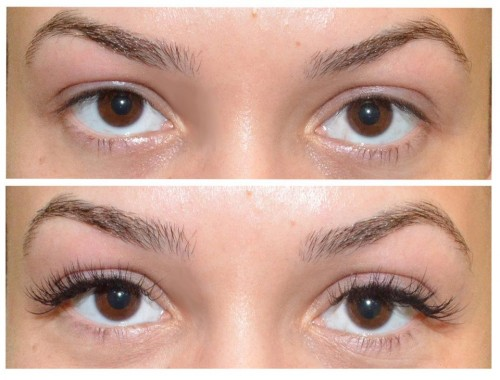 Mink Eyelash Extensions Before And After Eyelash extensions make