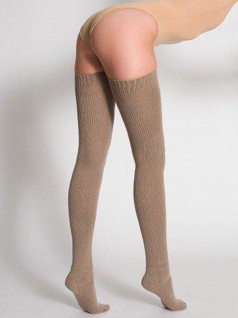 High socks showin ass