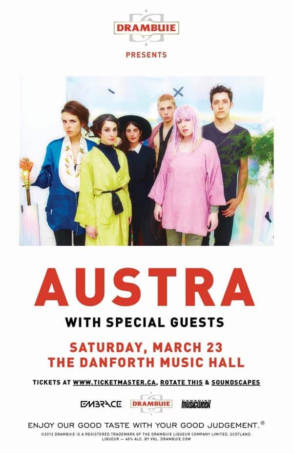 Austra at Danforth Music Hall