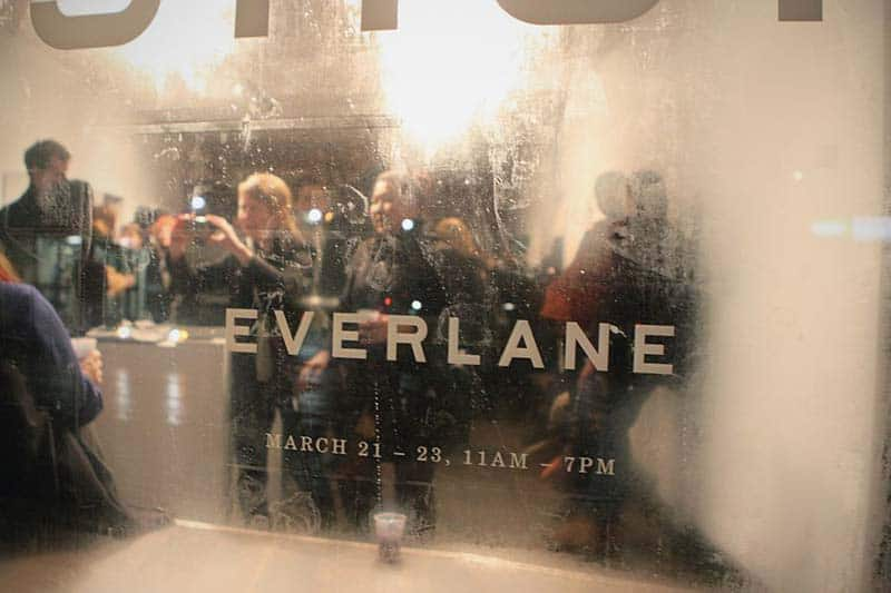 E Commerce Fashion And Beauty: E-commerce Site Everlane Hosts A Pop-up Party And Launches