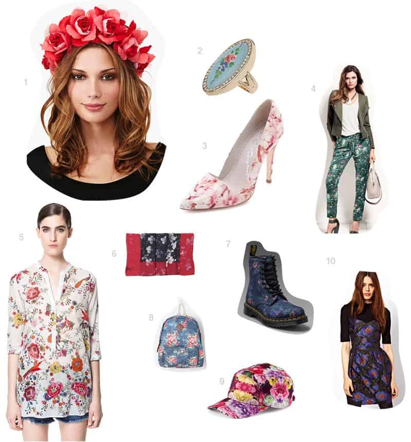 floral-print-collage
