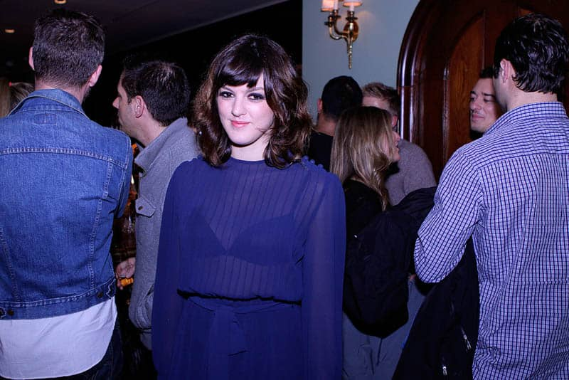 Misty Fox at It Girl Launch Party at Toronto's Soho House