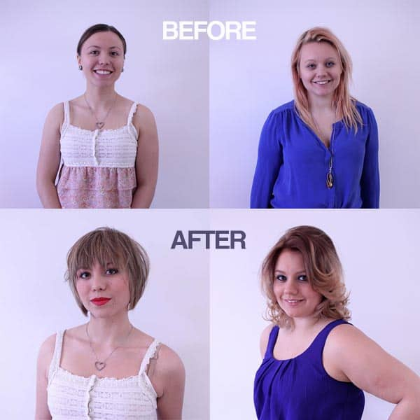 lebel crowe before after Photo gallery: The winners of our Lebel & Crowe and Eye Love Brow & Beauty Bar makeover contest!