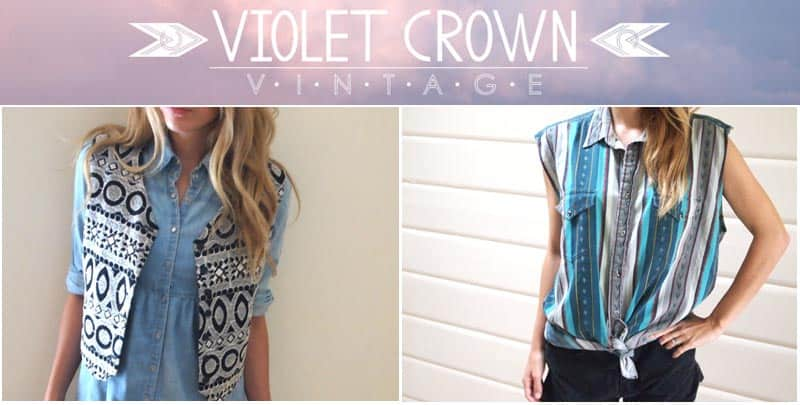 Online vintage shop Violet Crown Vintage is now in Canada and will be at the season's first outdoor Junction Flea