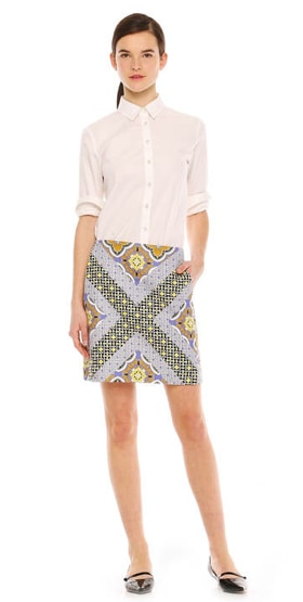 JoeFresh printSkirt Be BOLD in 2014