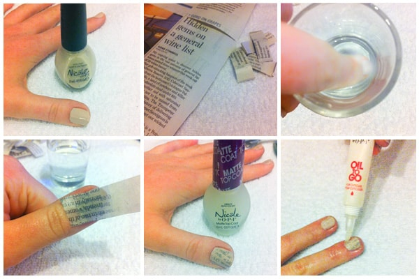 Step By DIY Nail Art