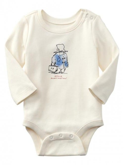 cn74055891 500x666 Baby Gaps Paddington Bear Collection is Adorable