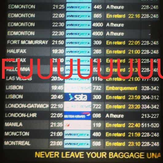 travel delays