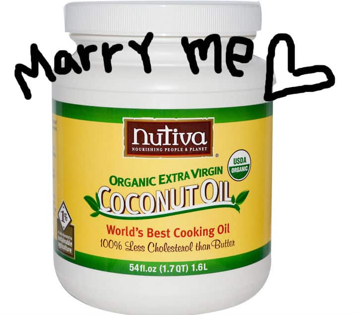 coconut oil marry me