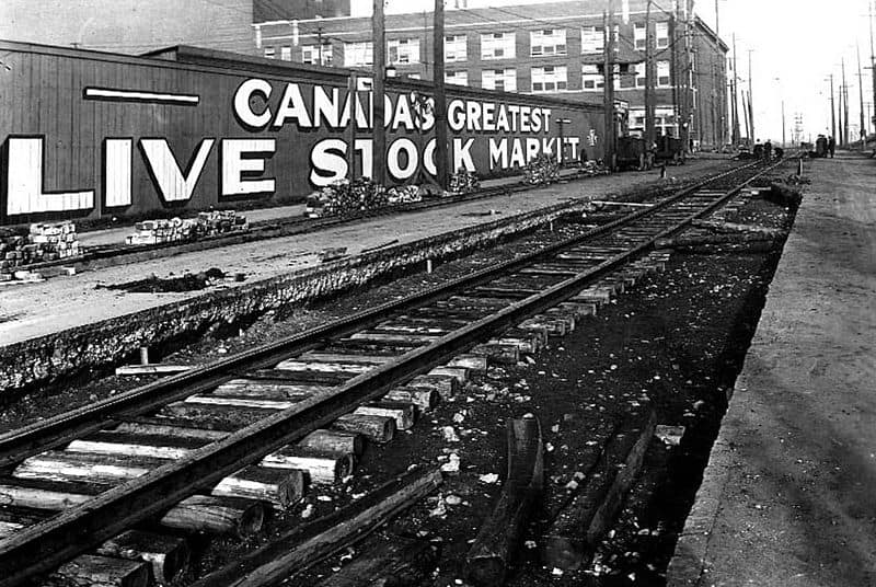 800px-Stockyards_in_Toronto-Keele_Street_looking_north_to_St._Clair_Avenue_West