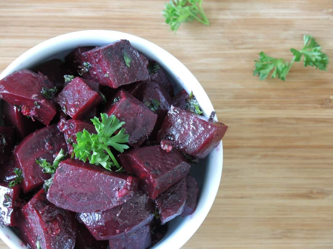 Delish Beet Salad Recipe from Healthy Eating and Living