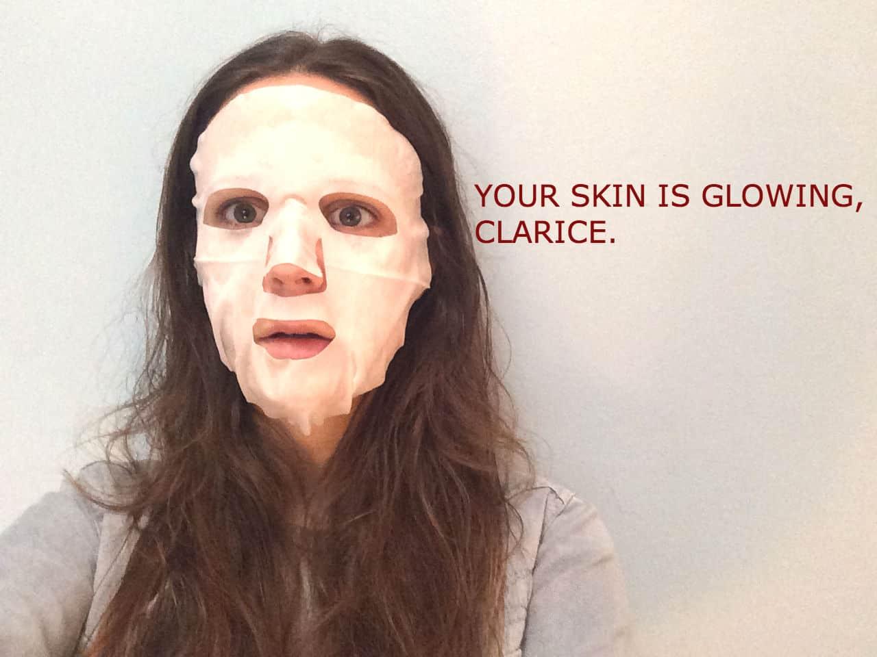 spring clean skin mask image