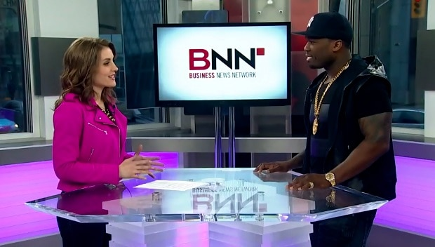 Kristina Interviewing 50 Cent