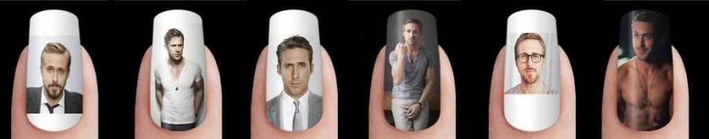 ryan gosling manicure