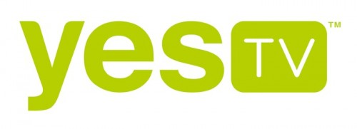 Yes TV logo WHITE