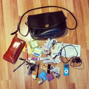 Anatomy of a Disorganized Woman's Purse
