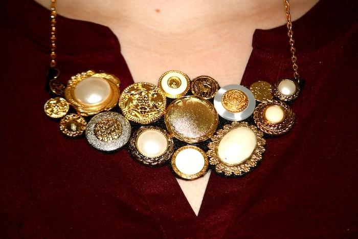 button necklace diy2
