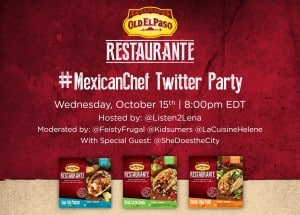 Mexican Chef Twitter Party Graphic