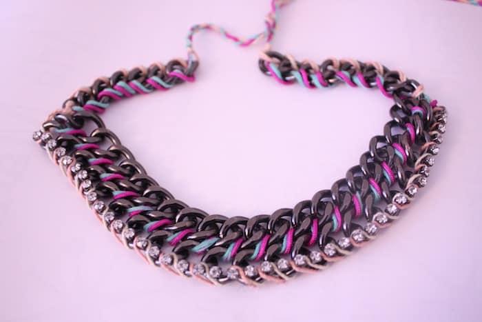 chunky necklace diy