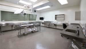 Pictured: Autopsy Teaching Suite