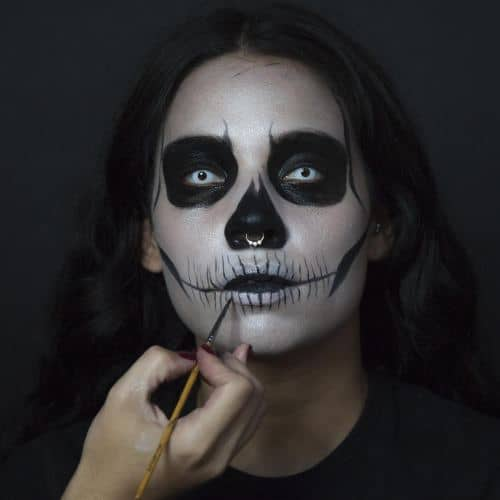 How To  Day Of The Dead-inspired Calavera Makeup Tutorial