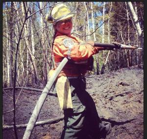 Katie Campbell Forest Firefighter
