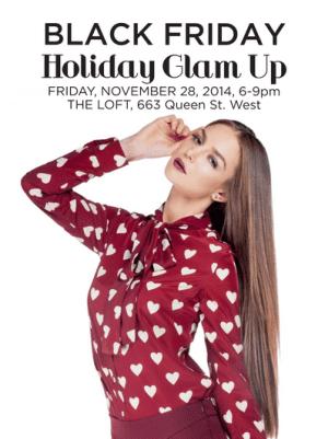 Black Friday Holiday Glam Up