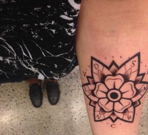 olga's tattoo