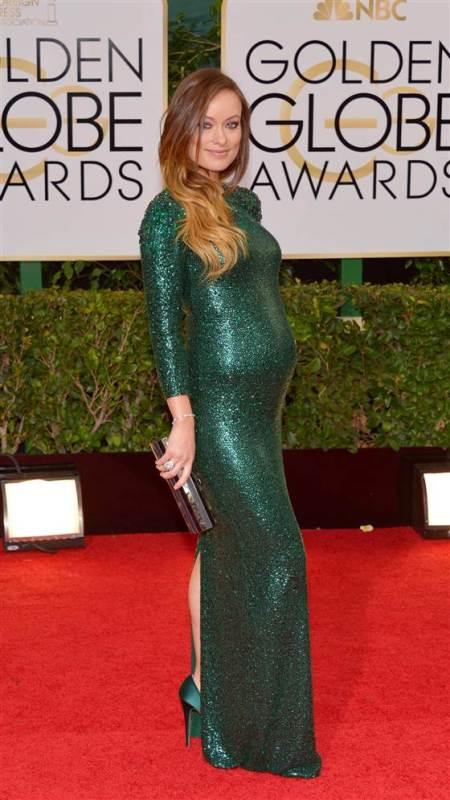 Olivia Wilde - Golden Globes