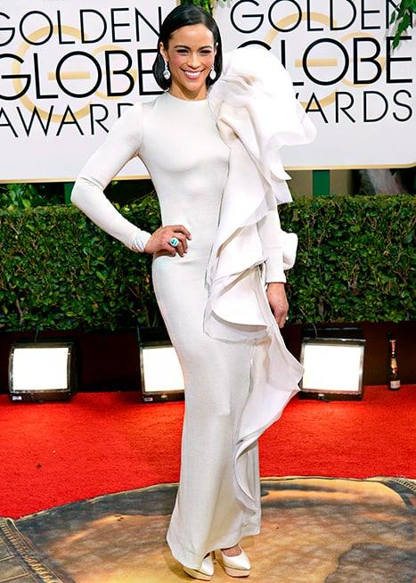 Paula Patton - Golden Globes