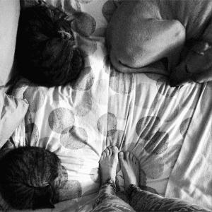 the best thing, ever. #furkids #familyportrait#bestillmybeatingheart