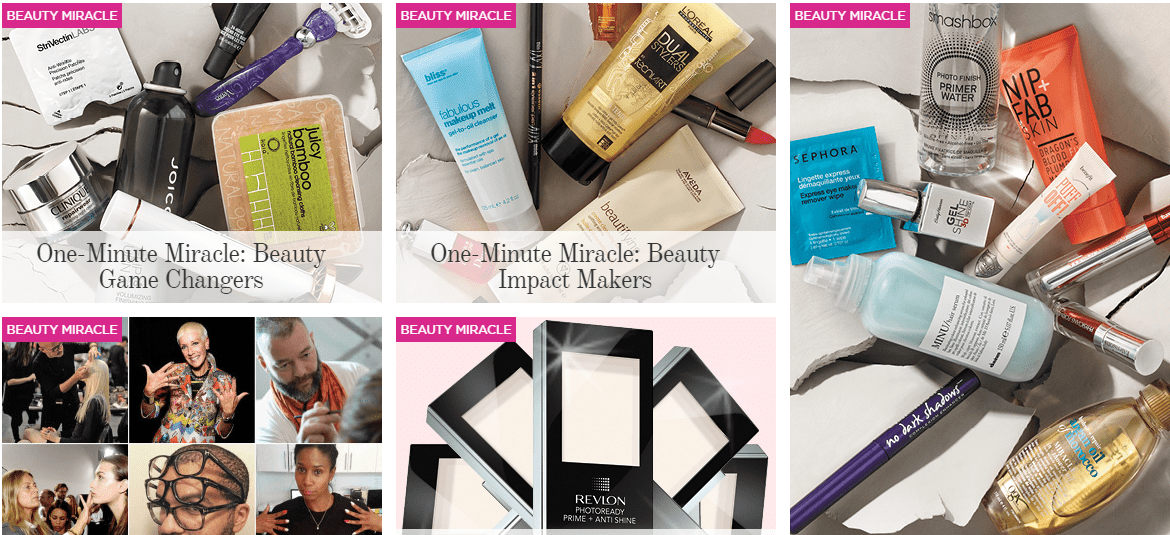 The Kit reveals their 2015 #oneminutemiracle beauty product awards