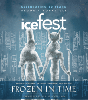 Bundle Up For Bloor-Yorkville's 10th Annual Icefest