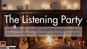 The Listening Party Concert Series Returns to Campbell House Museum