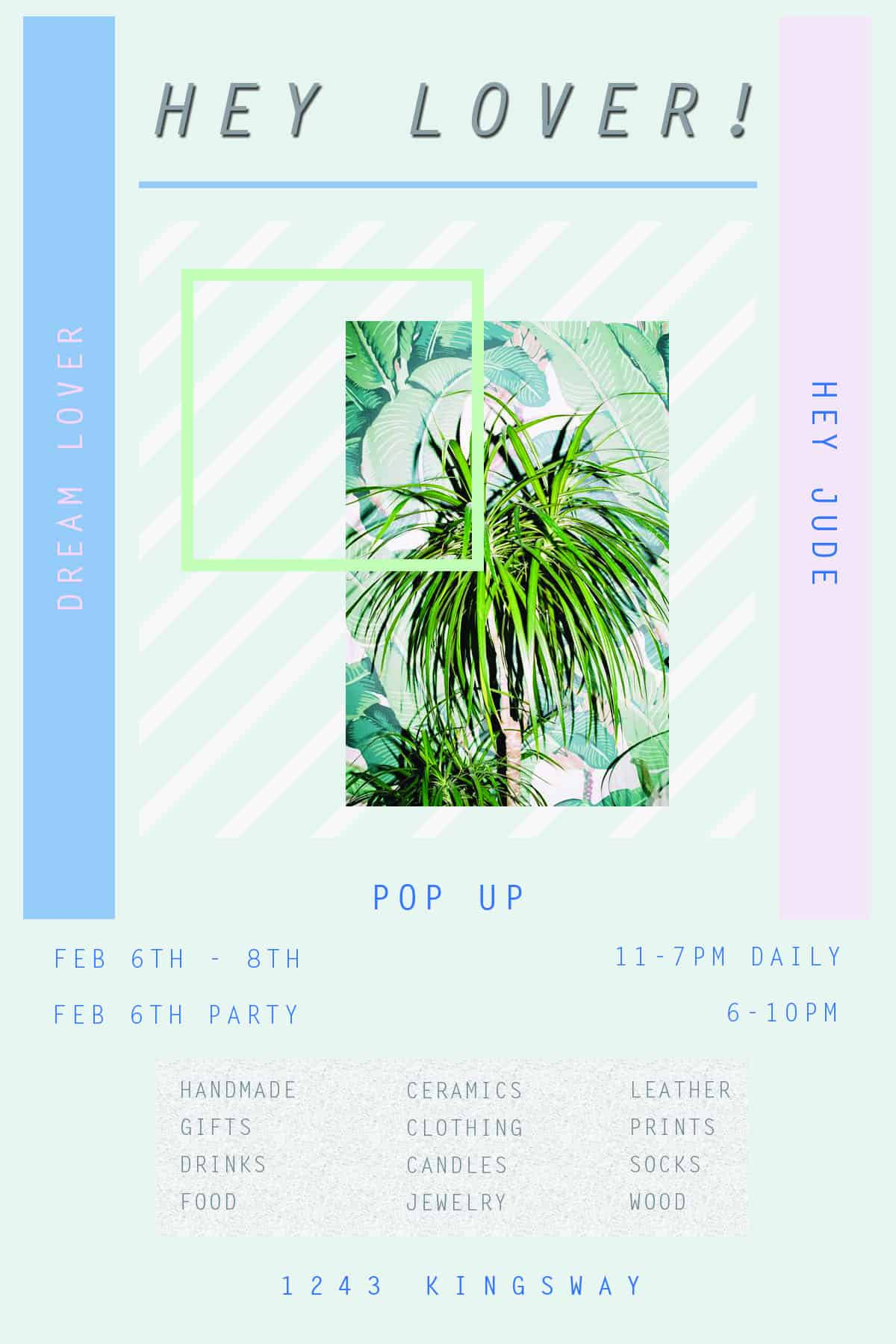 Hey Lover! Pop-Up Shop This Weekend