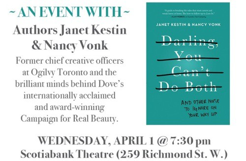 You're Invited: Pioneering Women host an evening w/ Authors Janet Kestin & Nancy Vonk
