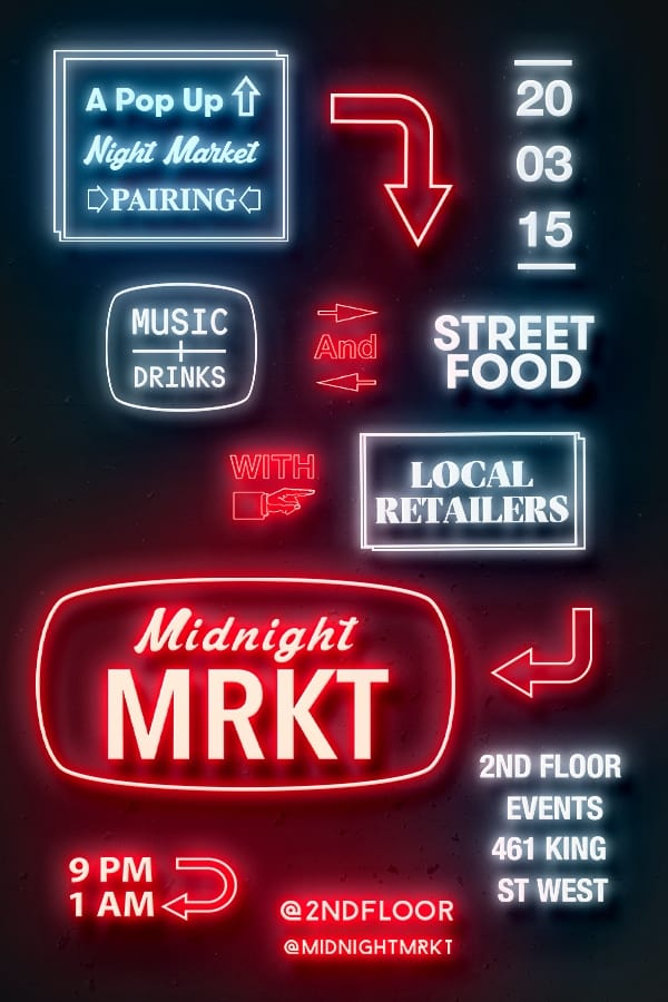 Our Pick of the Week: Midnight MRKT Spring Edition