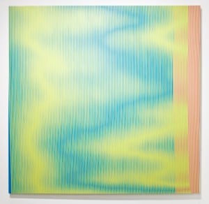 "Curtis Amisich, ""Who's Afraid of Pink, Blue, Yellow, and Green II"""