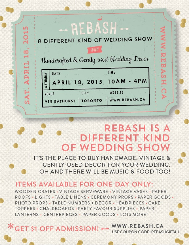 ReBash: A Different Kind Of Wedding Market