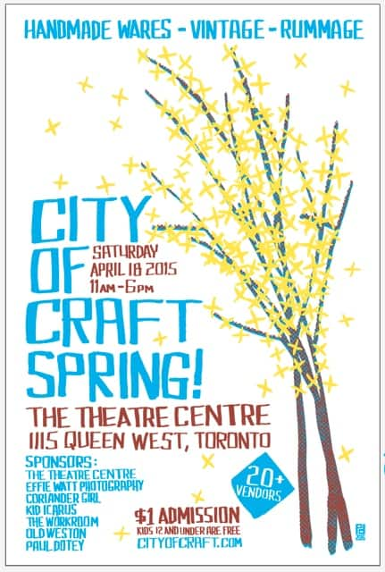 Toronto Hit List: Ice Cold Dranks, Nothin' But Smashes, City of Craft Spring, Love Handle & more!