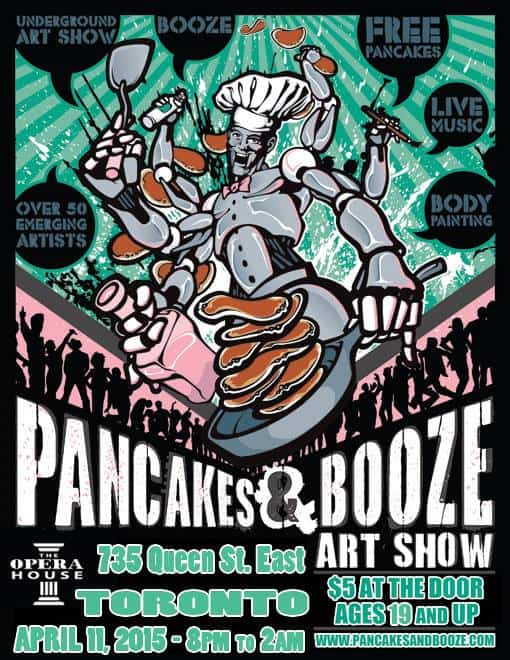 Our Pick of the Week: The Pancakes and Booze Art Show