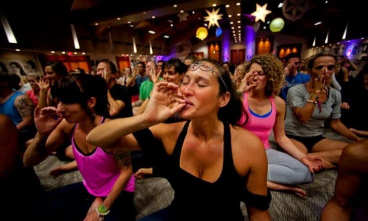 Why I'm Just Saying 'No' To Ganja Yoga