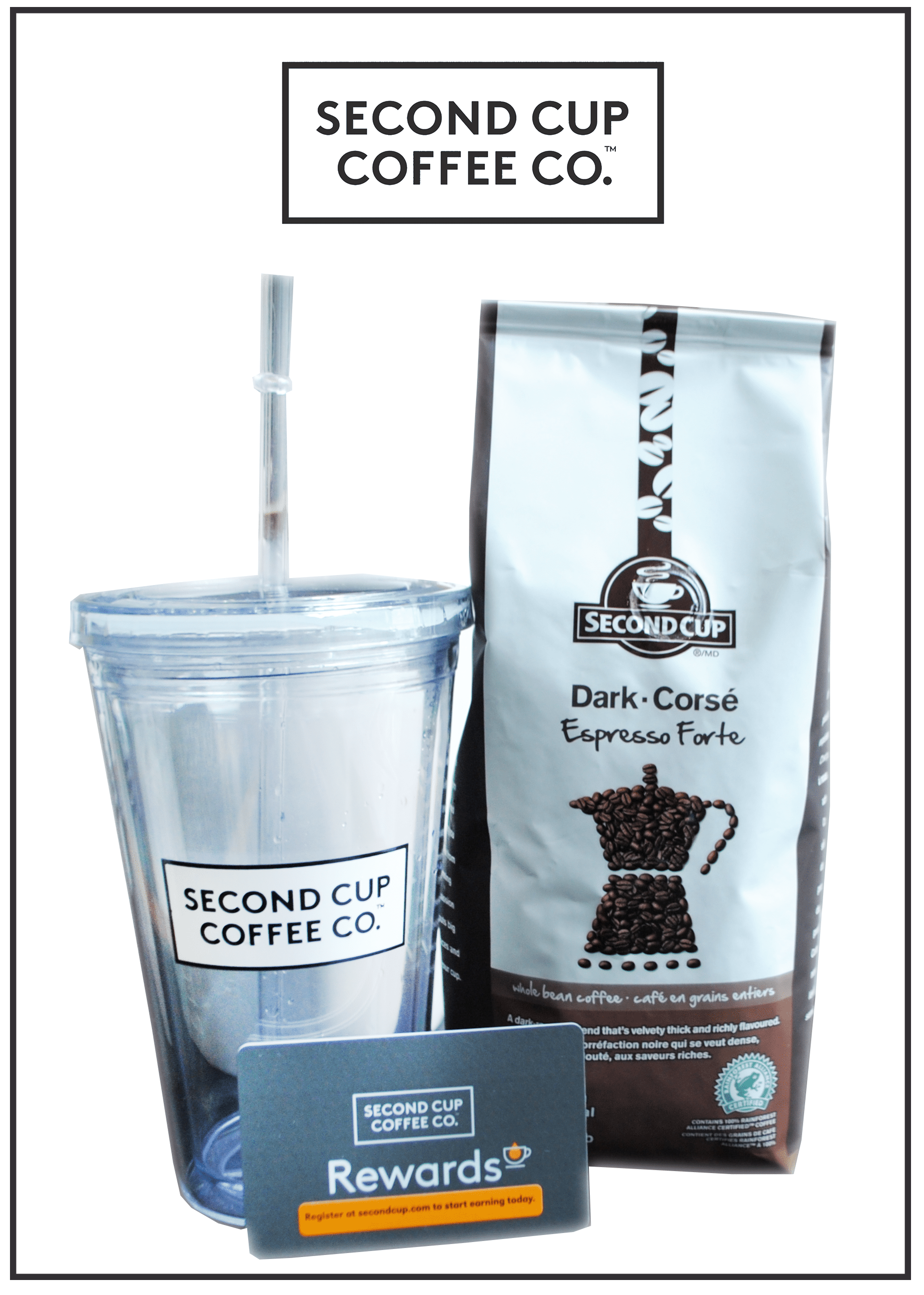 Second Cup Coffee Co. Frappé - Copromotion Image
