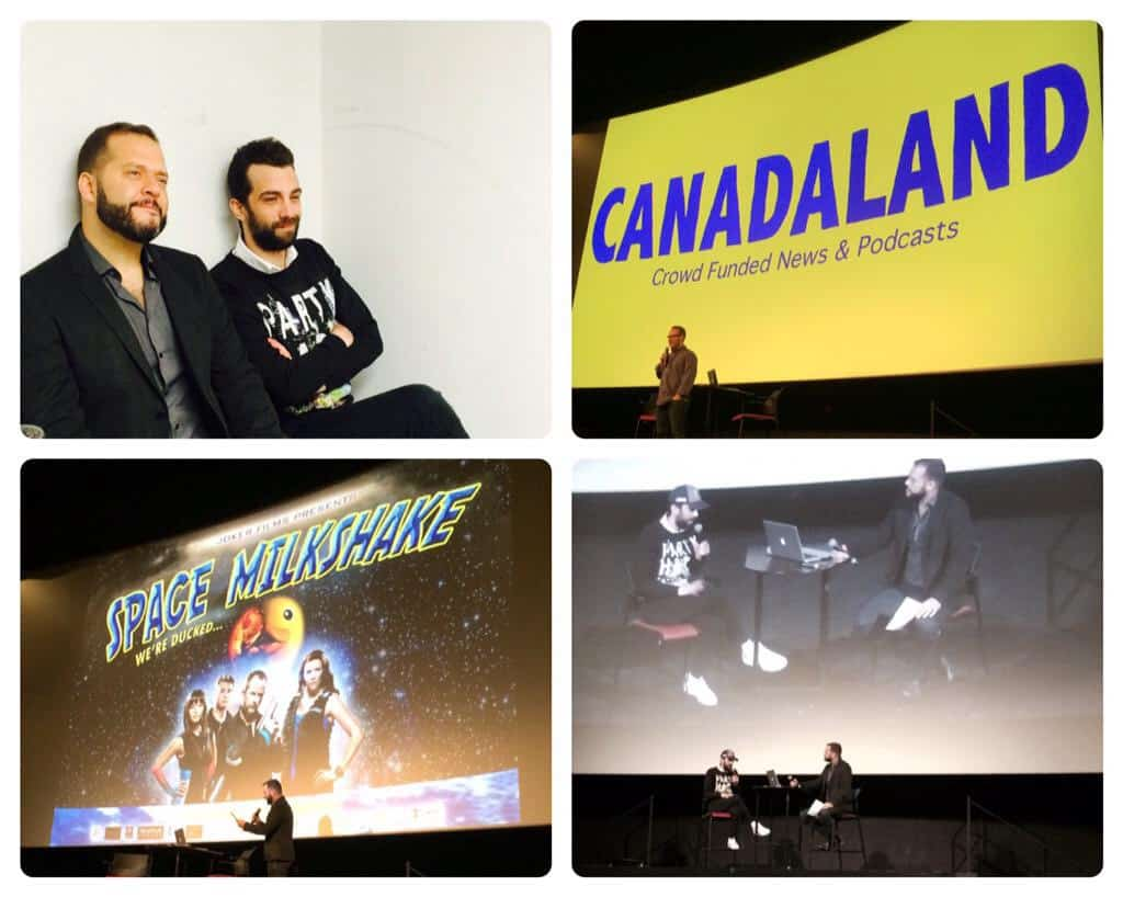 Last Night at Bloor Hot Docs: Jesse Brown & Jay Baruchel Attempt to Solve Canada's TV and Film Industry
