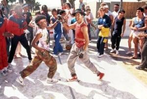 BREAKIN', Michael Chambers, Adolfo Quinones, 1984. (c) Cannon Pictures.