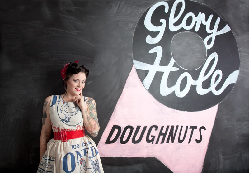 GLORY HOLE DOUGHNUTS: THE WOMAN BEHIND PARKDALE'S DOUGHNUT DYNASTY