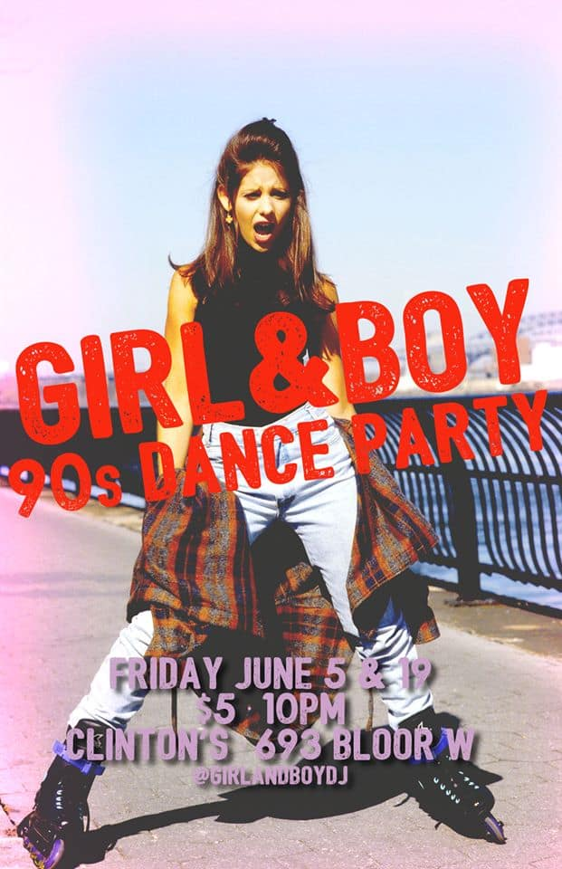 Toronto Hit List: Girl & Boy 90s Dance Party, Work It, Bellwoods Flea, Hip-Hop Karaoke & more!