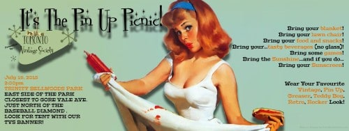 Pin-up Picnic with the Toronto Vintage Society